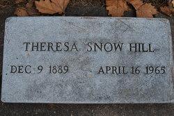 Mary Theresa <i>Snow</i> Hill