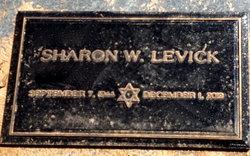 Sharon Sherry <i>Weisman</i> Levick