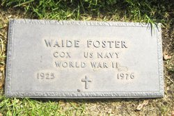Waide Foster