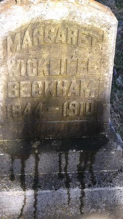 Margaret <i>Wickliffe</i> Beckham