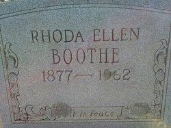 Rhoda Ellen <i>Dickerson</i> Boothe