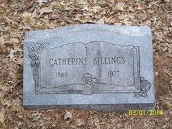 Catherine <i>Usher</i> Billings