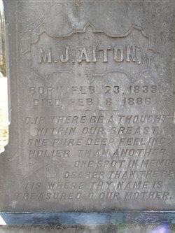 M J Aiton