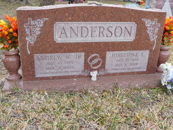 Andrew W Anderson, Jr