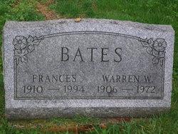 Martha Frances <i>Foster</i> Bates