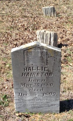 Hallie <i>Rutherford</i> Hairston