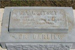 Fay Whitney