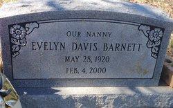 Evelyn <i>Davis</i> Barnett