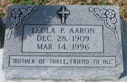 Leola <i>Pender</i> Aaron