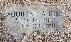 Aquiline A King