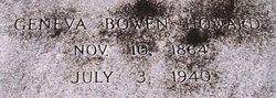 Geneva <i>Bowen</i> Howard