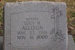 Lucy Ellene <i>Hamilton</i> Allison