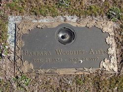 Barbara <i>Woodlief</i> Allen