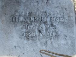 Leila Grace <i>Amos</i> Posey