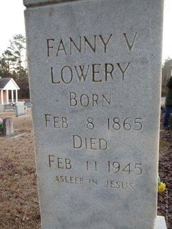 Frances Valulla Fanny <i>Putman</i> Lowery