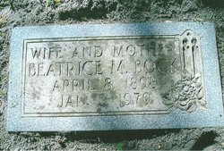 Beatrice Alleyne <i>Miller</i> Bock