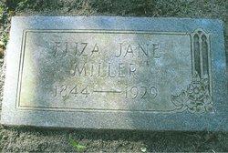 Eliza Jane <i>Miller</i> Lynn Miller