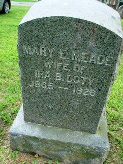 Mary E <i>Meade</i> Doty