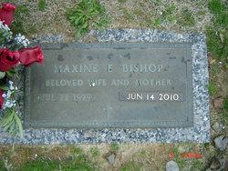 Mrs Maxine <i>Earp</i> Bishop