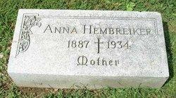 Anna <i>Tutter</i> Hembreiker