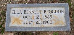 Ella <i>Bennett</i> Brogdon