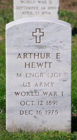 Arthur E Hewit