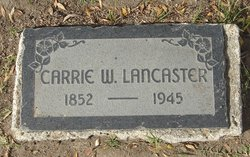 Carrie W. Lancaster
