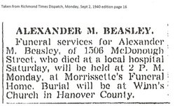 Alexander Mortimer Beazley