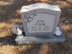 Annie Mae <i>Null</i> Cook