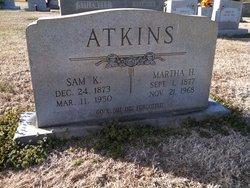 Martha Jane <i>Honeycutt</i> Atkins