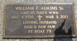 William Franklin Adkins, Sr