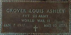 Grover Louis Ashley