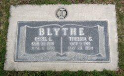 Thelma G Blythe