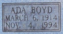 Ada Boyd