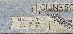 Lige Turner Clinkscales