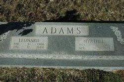 Leonard Adams