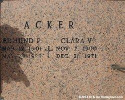 Clara <i>Vogel</i> Acker
