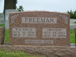 Wallace B Brick Freeman