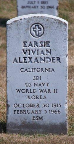 Earsie Vivian Alexander