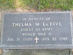 Thelma M LaFave