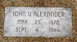 John Vernon Alexander
