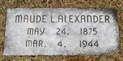 Maude Louella <i>Young</i> Alexander