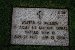 Walter Marion Balliew