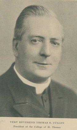 Rev Thomas E. Cullen