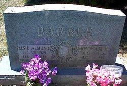 Elsie <i>Almond</i> Barbee