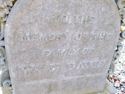 William Hith Davis Family Cemetery