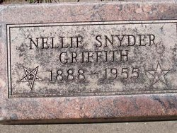 Nellie <i>Snyder</i> Griffith