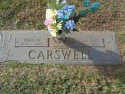 Lula Mae <i>Weems</i> Carswell