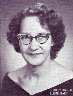 Shirley J. <i>Irvin</i> Baker