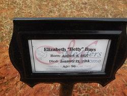 Elizabeth Betty <i>Watson</i> Bays